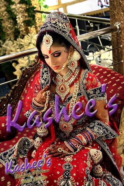 Beautiful Bridal Makeup Hair Style And Mehndi By Kashee S Beauty Parlour