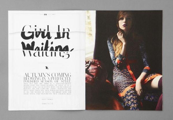 Magazine Layout by cherry