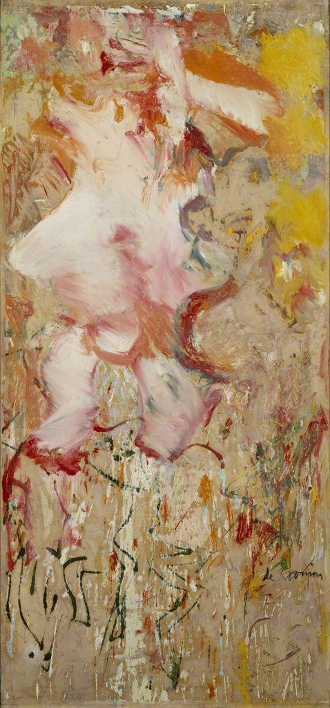 Willem de Kooning, Woman (1964).