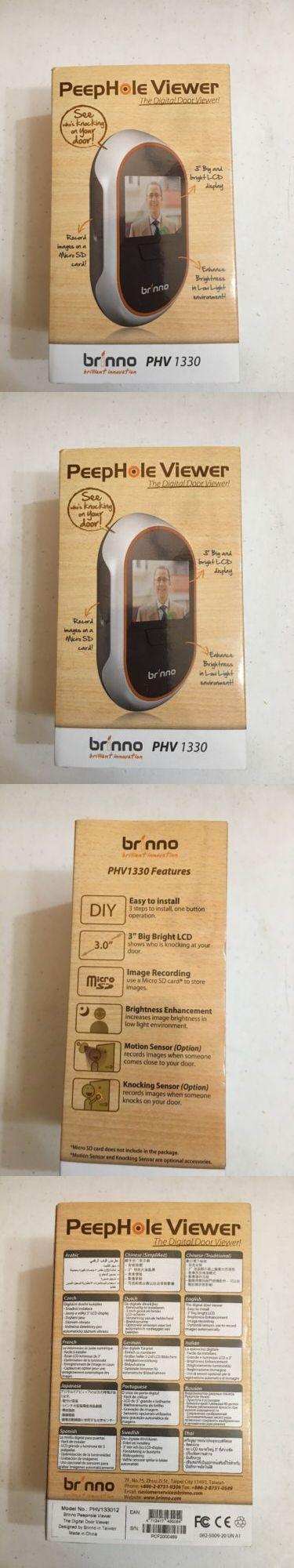 Other Home Surveillance: Brinno Phv1330 Hidden Front Door Camera -> BUY IT NOW ONLY: $129.99 on eBay!