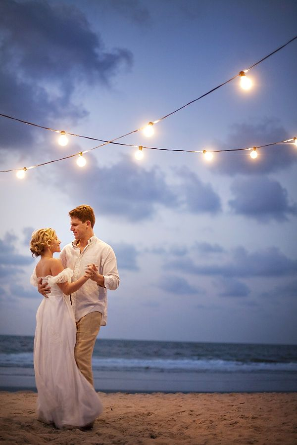 One of our favorite beach-night shoots of all times! Photography  by www.millieholloman.com, Design and Styling by www.saltharbor.com