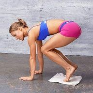 """My trainer makes me do these and by far will give you flatter abs faster then any crunches!"""