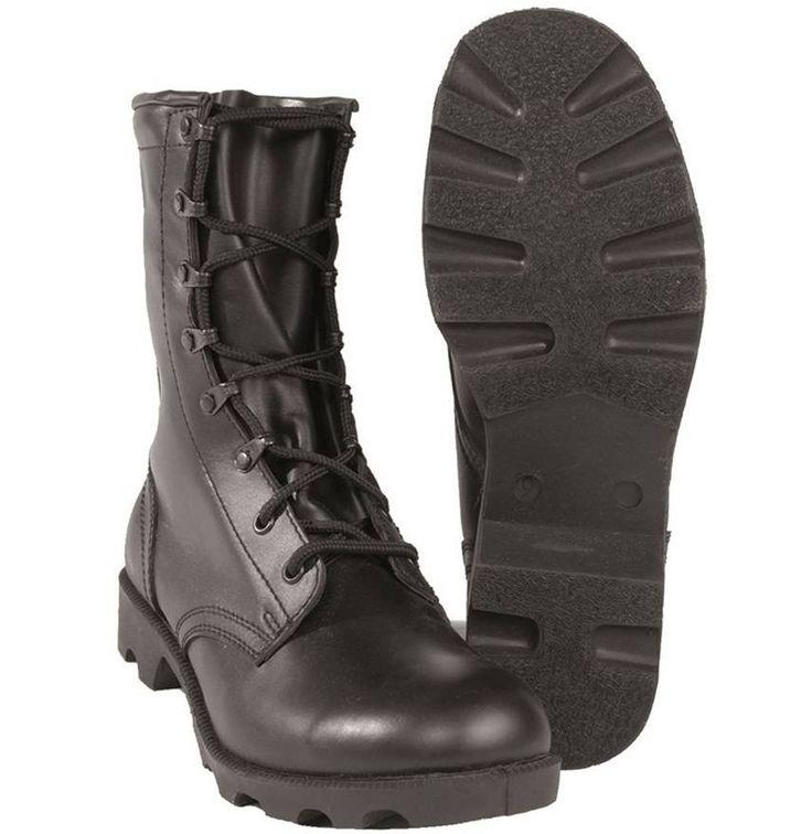 Mil-Tec US Kampfstiefel Leder Speed Lace / mehr Infos auf: www.Guntia-Militaria-Shop.de