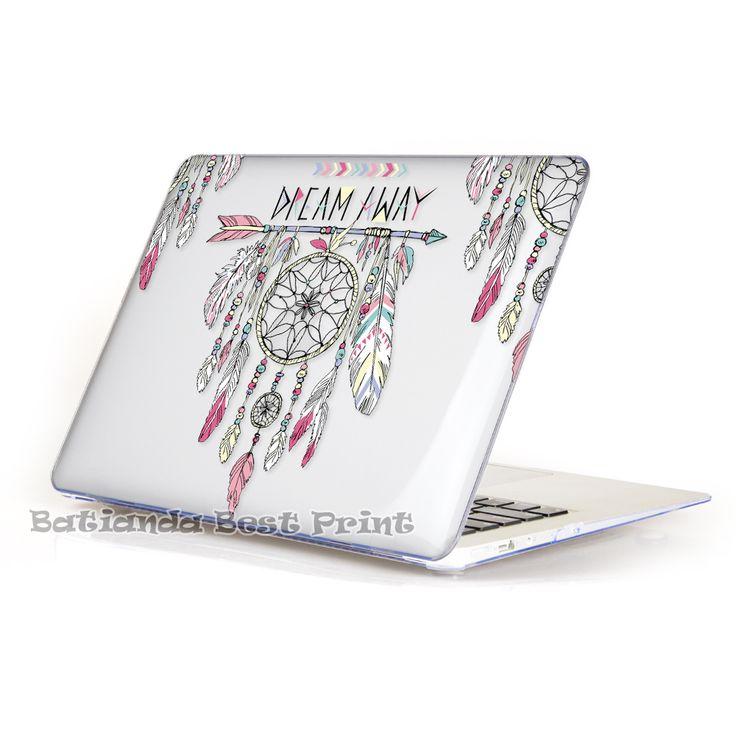 Кристально чистый BTD племенной тотем перо чехол для macbook Air Pro сетчатки 11 12 13 15 крышка ноутбука Mac книга 15.4 13.3 дюймов купить на AliExpress