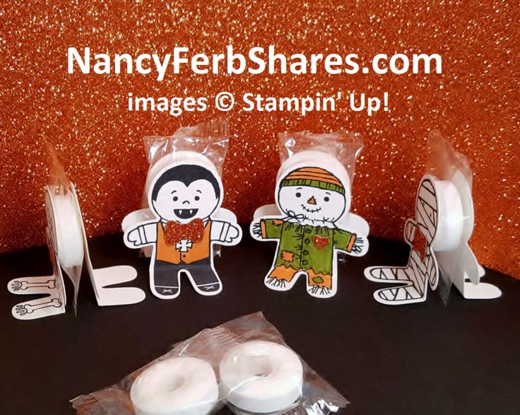 halloween sit down treats sandwich for lifesavers or other hard candies - Stampin Up Halloween Ideas