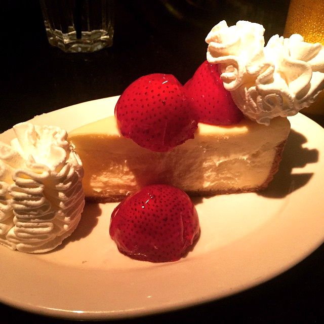 After shopping at Tucson Mall why not sink your teeth into a piece of happiness at The Cheesecake Factory? Refreshing and delicious!   (Photo via Instagram by @ansababbas - Click on the pin for additional places to grab a bite to eat in Tucson, Arizona)