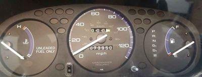 1996 - 2000 Honda Civic Gauge Cluster Repair Service
