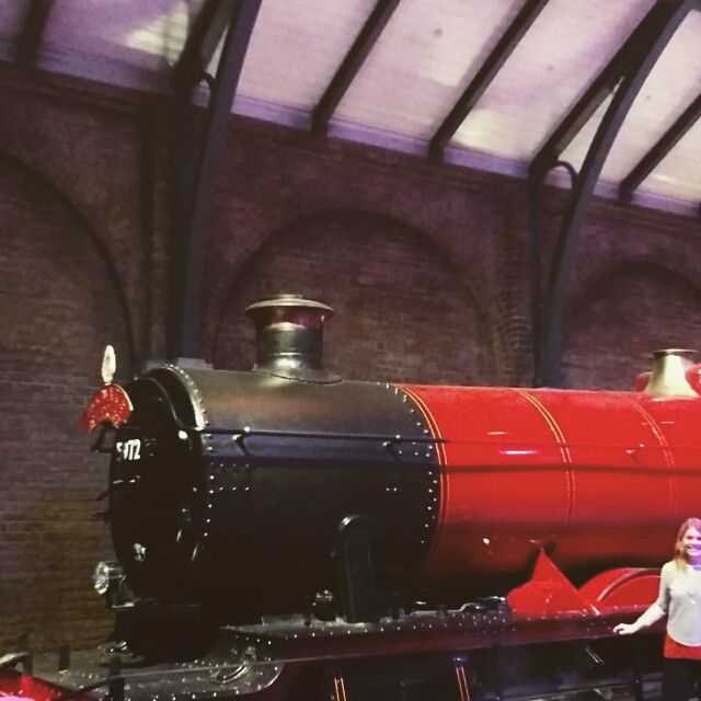 Toot toot! Off on the #hogwartsexpress! :D [video]