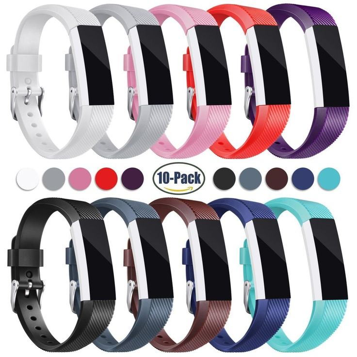 10-Pack Fitbit Alta HR Bands Replacement Band Soft Strap Wristband Bracelet #Konkit