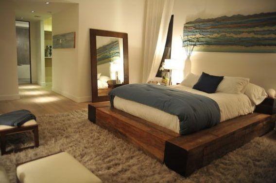 25 b sta holzbett selber bauen id erna p pinterest holzbett holzbalken bett och bettrahmen. Black Bedroom Furniture Sets. Home Design Ideas