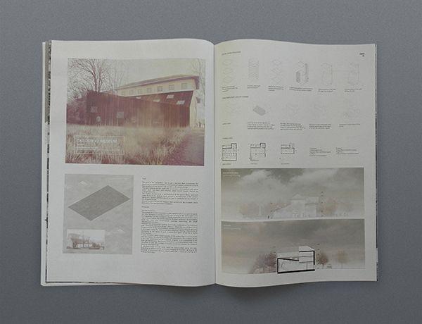 2013 architecture portfolio by SFSF , via Behance