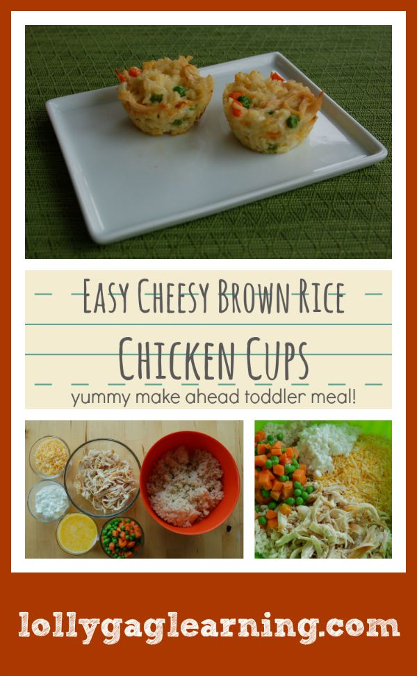 Healthy Toddler Cup Recipes for the Freezer: kale, quinoa, chicken, brown rice, omelets baked in muffin cups for quick and easy portioned meals.