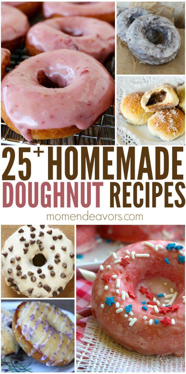 25 Delicious Homemade Doughnut Recipes Yum Bloggers