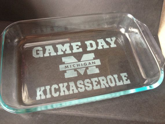 University of Michigan  - GO BLUE -   GAMEDAY Kickasserole