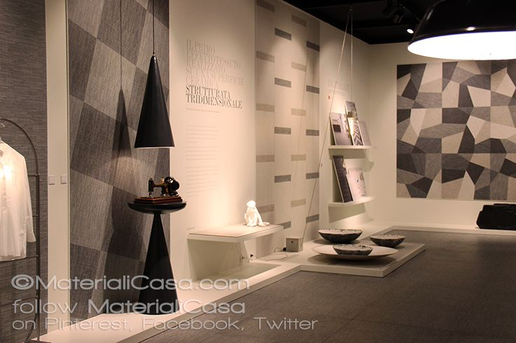 "@Sant_agostino ha presentato ""Digitalart"", gres porcellanato effetto tela vincitore del Ceramic Design Award 2015 di ADI.  #Cersaie2015 #CeramicTiles #Sant'Agostino"