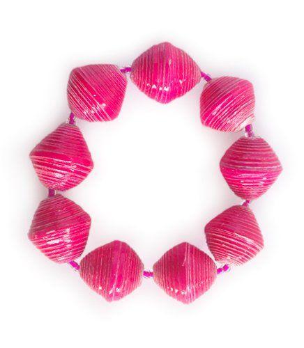 Mandisa - Pink | Indigo Heart - Fair Trade Fashion A$9.95