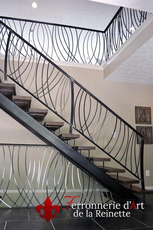 les 25 meilleures id es de la cat gorie rambarde escalier sur pinterest cloison de s paration. Black Bedroom Furniture Sets. Home Design Ideas