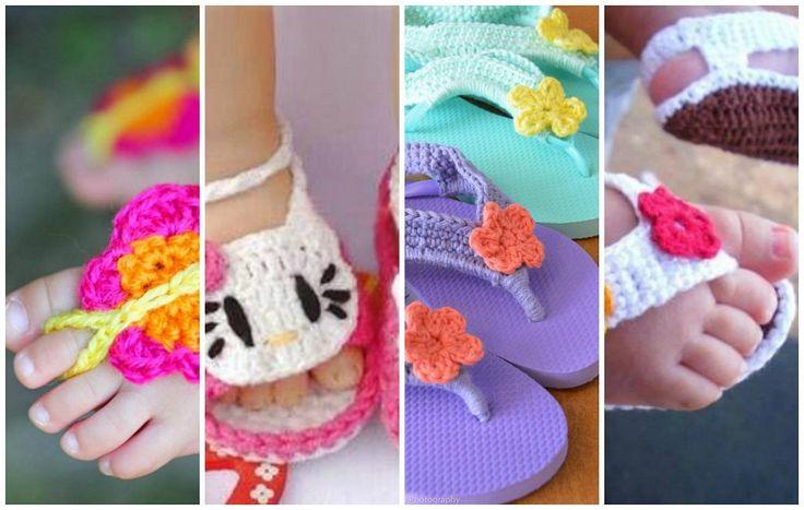 Con la técnica del crochet podemos crear preciosos zapatitos de bebé o detalles para decorar unas sandalias. ¿Lo vemos?