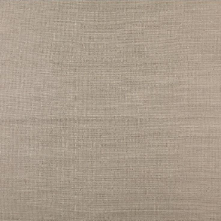 """Black and White Sisal Twill 24' x 36"""" Solid Wallpaper"""