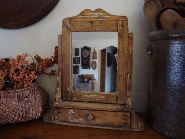 Antique Gray Dresser