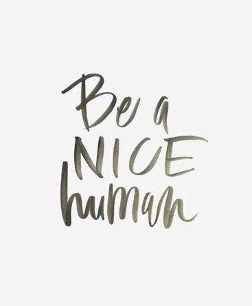 nice humans