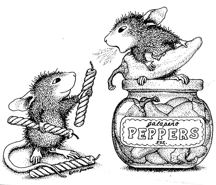 house mouse designs coloring pages - photo#11