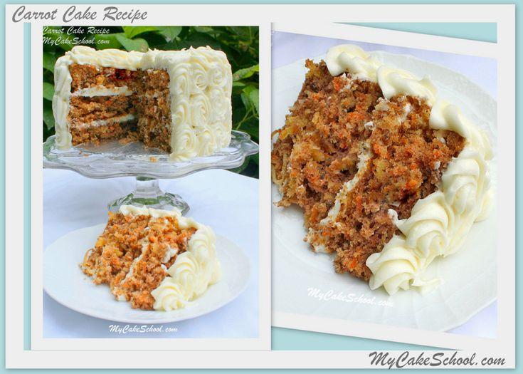 Our Favorite Carrot Cake Recipe!