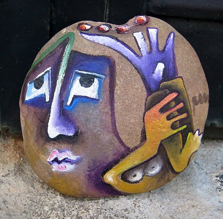 una piedra en tu camino: Rocks Concerts, J4 Rocks, Rivers Rocks, Mosaics Rocks, Rocks N Rol, Rocks Faces People, Let S Rocks, Rocks Art, Doodles Paintings Rocks