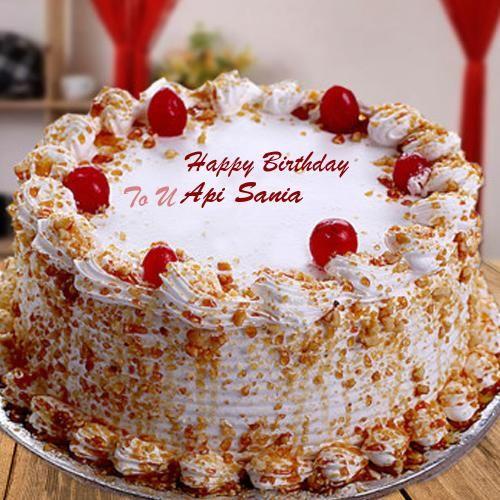 Butterscotch Birthday Wishes Name Cake Photo Send Sister Birthday