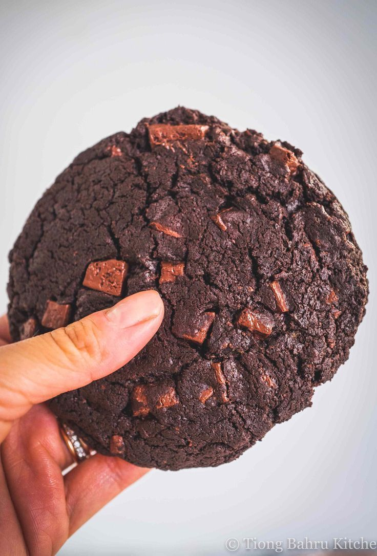 Perfect Double Chocolate Chip Cookies (Vegan & GF)
