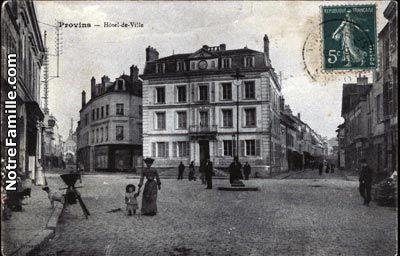 Carte Postale Hotel de Ville 77160 PROVINS seine et marne (77)