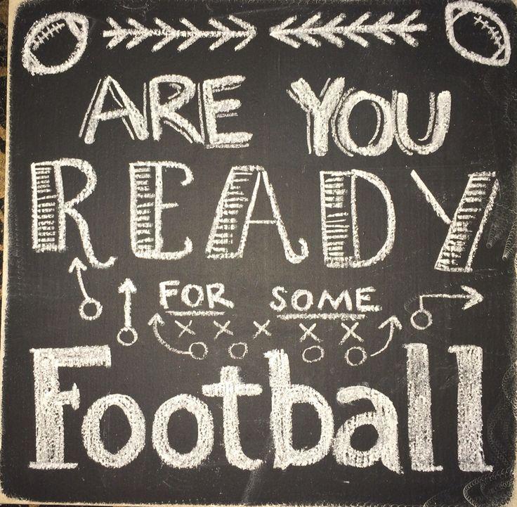 Football Chalkboard