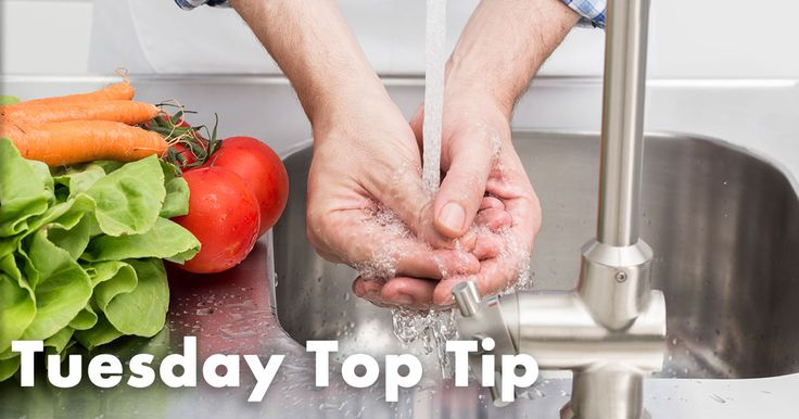 This week's Tuesday Top Tip: Why you should always wash your hands with only cold water