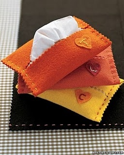 I love felt - this is a clever hand-sewn thing that would make great stocking stuffers.