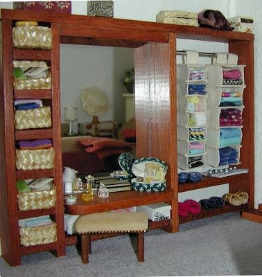 Organizadores de tela para los armarios: Canvas Opberg, Voor Canvas, And Miniatures, Dollhouses Crafts, Minis, Minidesign, Zoekresultaten Voor, Dollhouses Miniatures, Miniature