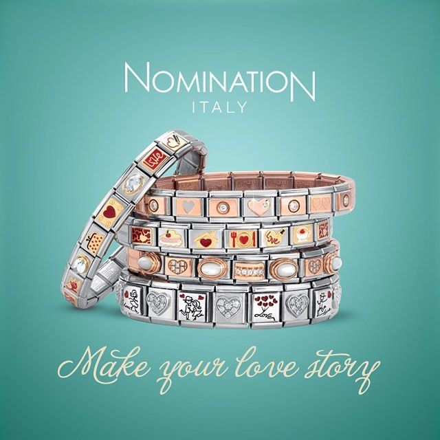 Make your love story.  #love #story #composable #nomination #nominationofficial #italia #italian #brand #accessories #jewellery #bangles #bracelet #love #fashion #stylish