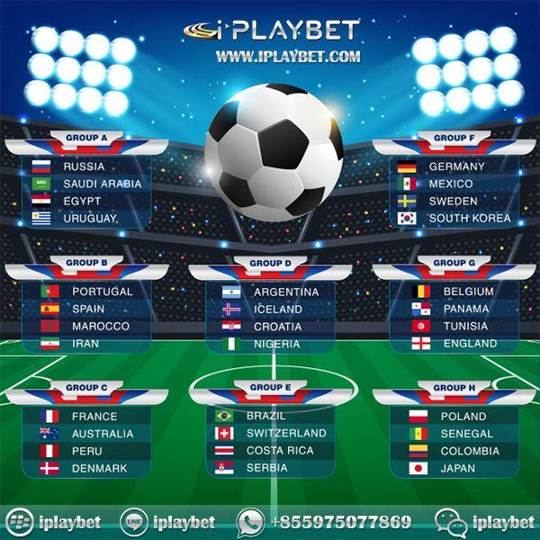 Jadwal Piala Dunia 2018 Gabung Skrg Jg Dan Mainkan Taruhan Bola Secara Online Skrg Jg Di Http Www Iplaybet Com Add Wa 85 Piala Dunia Dunia Olahraga