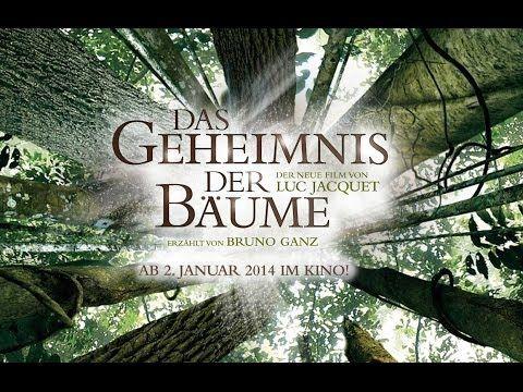 Das Geheimnis der Bäume Offizieller Trailer Deutsch HD Luc Jacquet (Die Reise der Pinguine) - YouTube