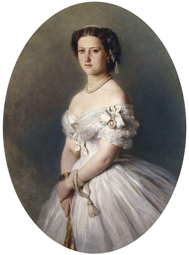 1865 Princess Helena by Franz Xaver Winterhalter