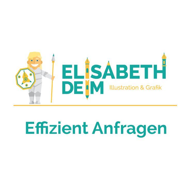 Effizient Anfragen / Briefing für Illustration von ELISABETH DEIM