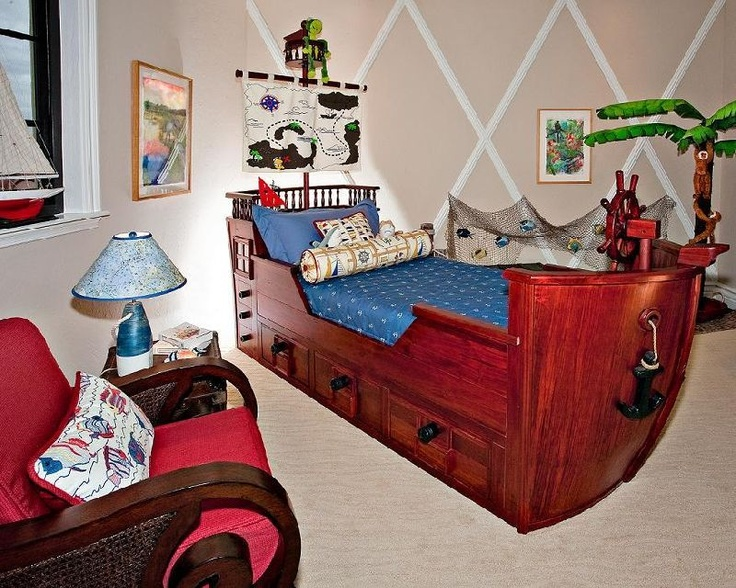 Pirate Bedrooms   Pirate Themed Furniture   Nautical Theme Decorating Ideas    Pirate Theme Bedroom Decor   Peter Pan   Jake And The Never Land Pirates  ...