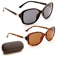 Martina Polarized Sunglasses with free hard case included only £26.99