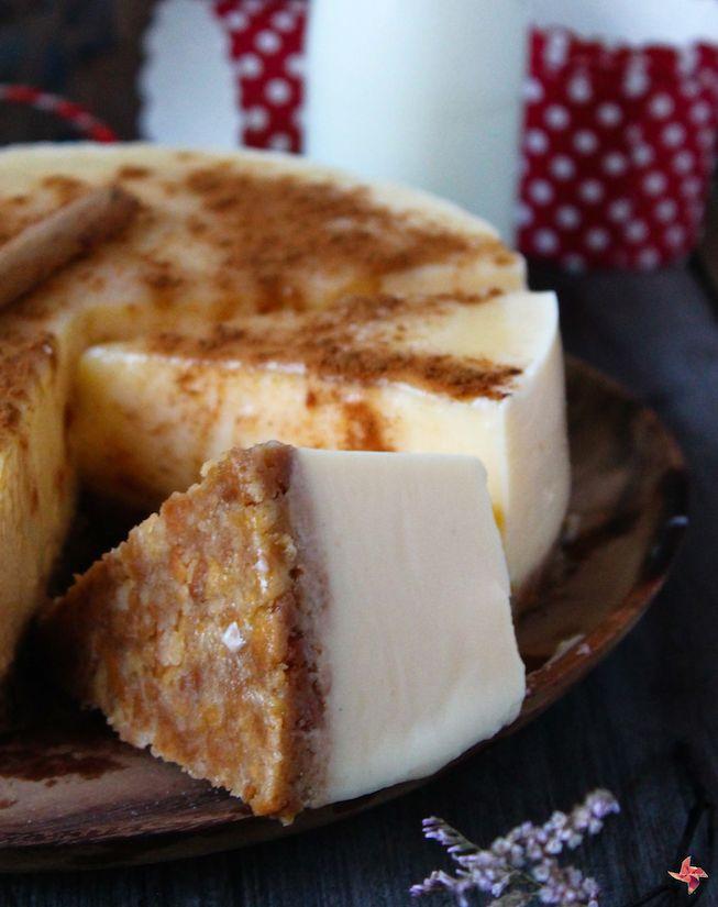 Receta de tarta de crema catalana sin horno