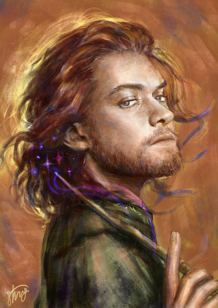 Young Albus Dumbledore, Stng Pratumtip on ArtStation at https://www.artstation.com/artwork/vP6XO