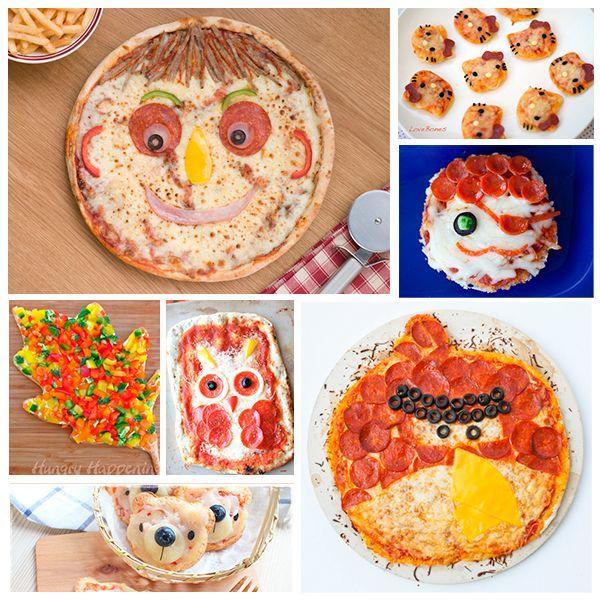 7 recetas de pizza, divertidas y deliciosas