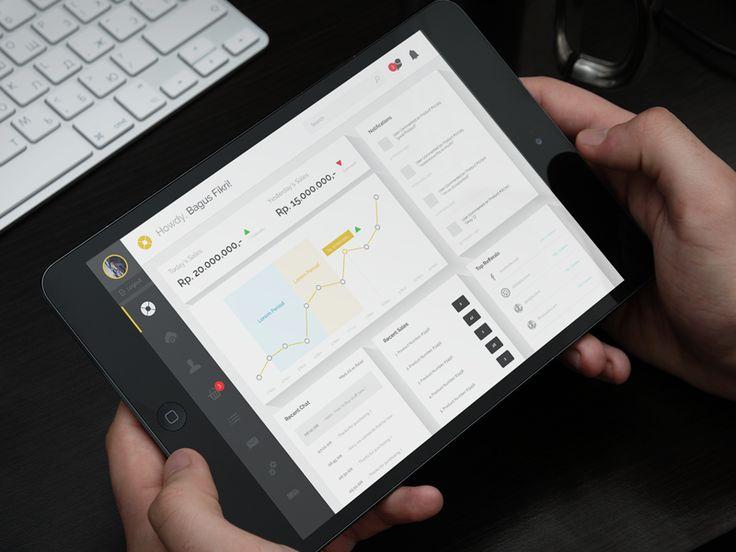 Free Dashboard Ecommerce Admin by Bagus Fikri