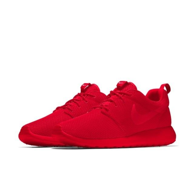 73d7e773f513 New Womens Nike ID Roshe One Triple Red SZ8.5 Custom Shoes  fashion   clothing  shoes  accessories  womensshoes  athleticshoes (ebay link)
