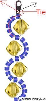 Beaded Crystal Bracelet :