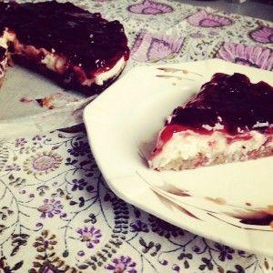 Monchoutaart zonder geraffineerde suiker en gluten