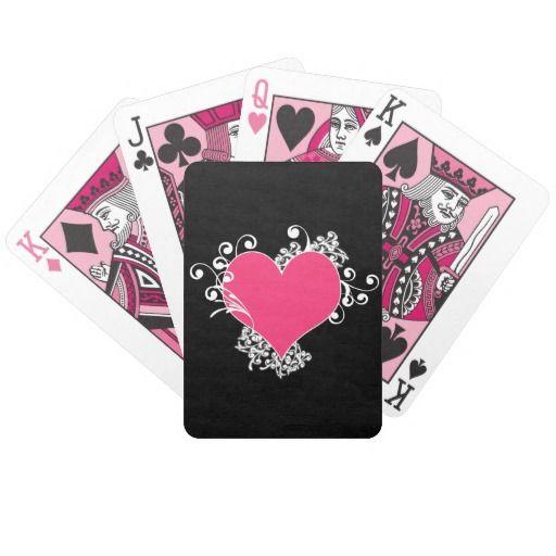 KRW Pink and Black Zebra Diva Birthday Card Deck